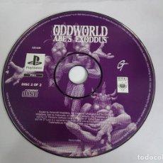 Videogiochi e Consoli: ODDWORLD ABES EXODDUS PLAYSTATION SOLO EL CD 2. Lote 287666373