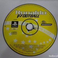 Videojuegos y Consolas: RONALDO V-FOOTBALL JUEGO PARA SONY PLAYSTATION PS1. Lote 287667083