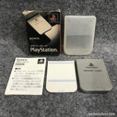 Videojuegos y Consolas: MEMORY CARD OFICIAL 1MB SONY PLAYSTATION PS1. Lote 287805043