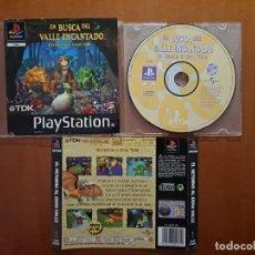 Videojuegos y Consolas: EN BUSCA DEL VALLE ENCANTADO - PS1 - PLAYSTATION 1. Lote 287943443