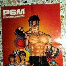 Videojuegos y Consolas: PÓSTER ANTIGUO REVISTA PLAYSTATION PSM DOBLE PÓSTER EAGLE ONE LUCHA - AÑO 1999 - PSONE PS1. Lote 288487478