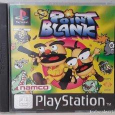 Videojuegos y Consolas: POINT BLANK(PLAYSTATION PSX PS1 PSONE) - USADO. Lote 288586878