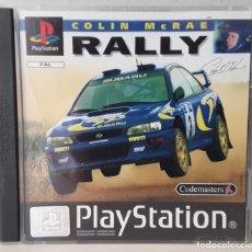 Videojuegos y Consolas: COLIN MCRAE RALLY (PLAYSTATION PSX PS1 PSONE) - USADO. Lote 288586903