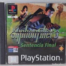 Videojuegos y Consolas: SYPHON FILTER 3: SENTENCIA FINAL (PLAYSTATION PSX PS1 PSONE) - USADO. Lote 288586923