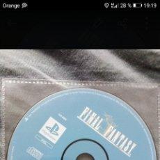 Videojuegos y Consolas: FINAL FANTASY ORIGINS PLAY STATION PS1 SOLO JUEGO. Lote 288701668