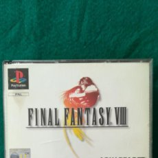 Videojuegos y Consolas: FINAL FANTASY VIII. 4 CD, MANUAL DE INSTRUCCIONES. PERFECTO ESTADO. Lote 288889363