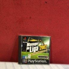 Videojuegos y Consolas: JUEGO PLAYSTATION 2 - MANAGER DE LIGA 2002. Lote 289327318