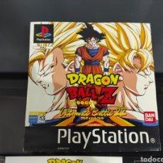 Videojuegos y Consolas: CARÁTULAS DRAGÓN BALL Z PS1. Lote 289900533