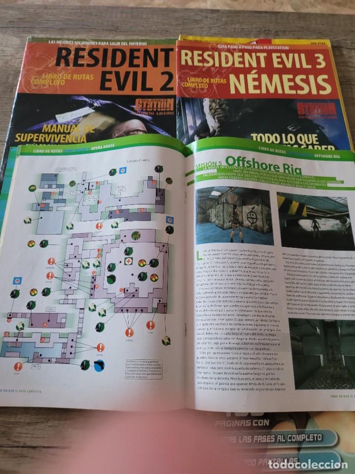 Videojuegos y Consolas: LOTE 5 REVISTAS VINTAGE PLAYSTATION GUIAS Y TRUCOS -TOMB RAIDER-RESIDENT EVIL. - Foto 4 - 290130378
