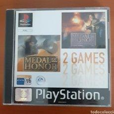Videojuegos y Consolas: JUEGO PLAY STATION MEDAL OF HONOR 2 GAMES. VER FOTOGRAFÍAS Y DESCRIPCIÓN.. Lote 291440203