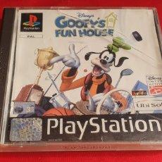 Videojuegos y Consolas: JUEGO GOOFY'S FUN HOUS PLAYSTATION 1 SIN PROBAR.TAL CUAL COMO SE VE EN FOTOS. Lote 292550163