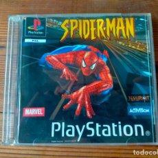 Videojuegos y Consolas: SPIDERMAN SPIDER MAN PLAYSTATION 1 CAJA PARA ARREGLAR. Lote 293316973