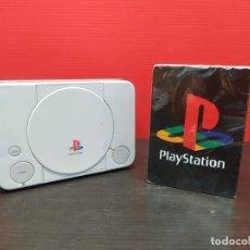 Videojuegos y Consolas: CAJA METALICA CON BARAJA DE CARTAS DE POCKER PLAYSTATION PS1 PSX. Lote 297019078
