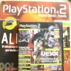 Videojuegos y Consolas: REVISTA OFICIAL PLAYSTATION 2 Nº 29, JUINO 2003. INCLUYE DVD CON 9 DEMOS JUGABLES (VEXX, SPLINTER CE. Lote 114759371