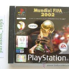 Jeux Vidéo et Consoles: PS1 PLAYSTATION: JUEGO MUNDIAL FIFA 2002 COREA Y JAPÓN / COMO NUEVO - EN CAJA Y COMPLETO -. Lote 27128993
