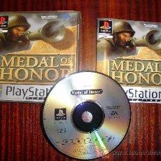 Videojuegos y Consolas: PS2 -MEDAL OF HONOR -PLAYSTATION. Lote 26539499