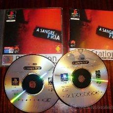 Videojuegos y Consolas: PS2 -PSX -SANGRE FRIA -PLAYSTATION. Lote 27093778