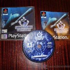 Videojuegos y Consolas: PS2 -PSX SUBMARINE COMMANDER -PLASTATION. Lote 26539535