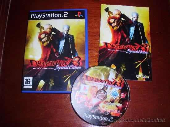 PS2 -DEVIL MAY CRY 3 SPECIAL EDITION -PLAYSTATION (Juguetes - Videojuegos y Consolas - Sony - PS2)
