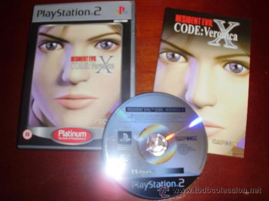 PS2 -RESIDENT EVIL: CODE VERONICA X -PLAYSTATION (Juguetes - Videojuegos y Consolas - Sony - PS2)