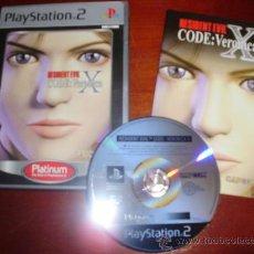 Videojuegos y Consolas: PS2 -RESIDENT EVIL: CODE VERONICA X -PLAYSTATION. Lote 23824893