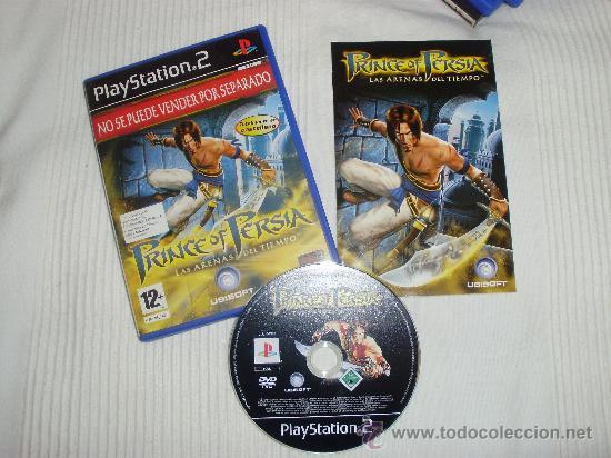 PS2 -PRINCE OF PERSIA -LAS ARENAS DEL TIEMPO -PLAYSTATION (Juguetes - Videojuegos y Consolas - Sony - PS2)