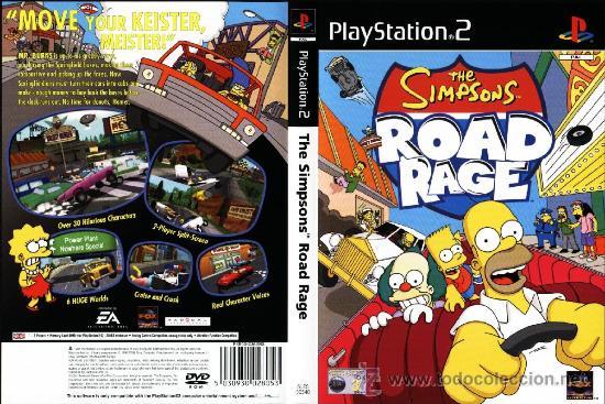 The Simpsons Road Rage  Juego original para Ps2