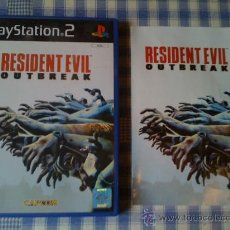 Videojuegos y Consolas: RESIDENT EVIL OUTBREAK SONY PS2 PLAY STATION 2 PS2 PS3 PAL SALCEDUS SALCEDUS_JVR. Lote 26597336