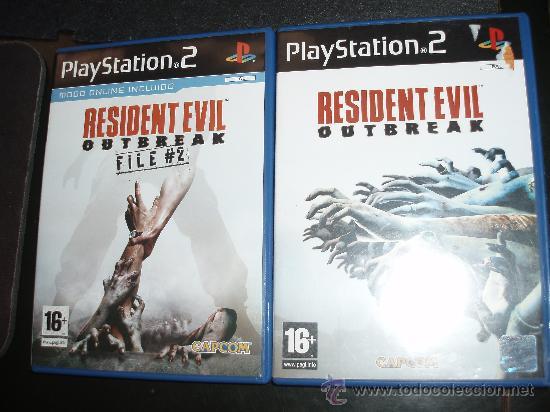 Ps2 Resident Evil 2 Outbreak File 2 Juegos Par Comprar Videojuegos