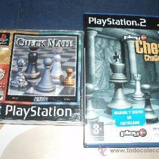 Videojuegos y Consolas: JUEGO AJEDREZ CHECKMATE Y PLAY IT CHESS PLAYSTATION 1 Y 2. Lote 26902700