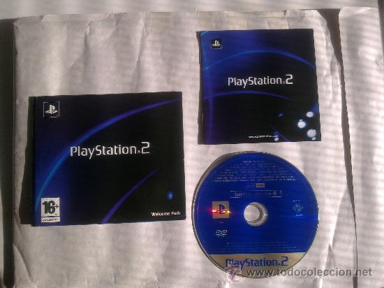 WELCOME PACK SONY PLAYSTATION 2-DVD ROM BONUS DEMO 6-