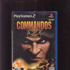 Videojuegos y Consolas: COMMANDOS , JUEGO DE - PLAYSTATION 2 , PS2 ( PLAY STATION 2 ). Lote 27794915