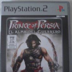 Videojuegos y Consolas: PS2. PRINCE OF PERSIA EL ALMA DEL GUERRERO. JUEGO ORIGINAL EN Y COMPLETO.. Lote 28905859