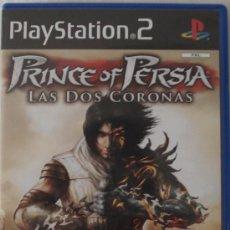 Videojuegos y Consolas: PS2. PRINCE OF PERSIA LAS DOS CORONAS. JUEGO ORIGINAL EN Y COMPLETO.. Lote 28905912