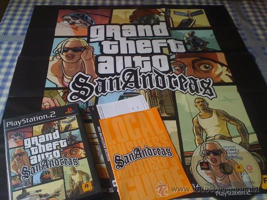 Gta San Andreas Para Playstation 2 Ps2 Pal Comp Comprar