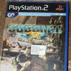 Videojuegos y Consolas: JUEGO PLAYSTATION 2 - SOCOM II : U.S. NAVY SEALS - SOCOM 2 PLAY STATION 2 PS2. Lote 28973740