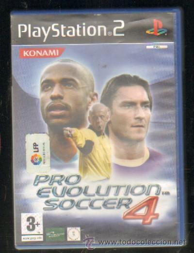 PRO EVOLUTION SOCCER 4  PS2  VIDJUEG-029