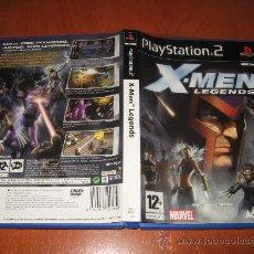 Videojuegos y Consolas: X MEN LEGENDS - PS2 PAL ESPAÑA COMPLETO. Lote 29199303