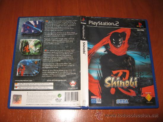 SHINOBI - PS2 PAL ESPAÑA COMPLETO CON EL POSTER (Juguetes - Videojuegos y Consolas - Sony - PS2)