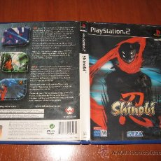 Videojuegos y Consolas: SHINOBI - PS2 PAL ESPAÑA COMPLETO CON EL POSTER. Lote 29654885