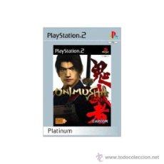 Videojuegos y Consolas: ONIMUSHA PS2 PLATINUM. Lote 30710192