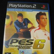 Videojuegos y Consolas: PLAYSTATION 2 - PRO EVOLUTION SOCCER 6. Lote 30996850