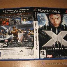 Videojuegos y Consolas: X MEN EL VIDEOJUEGO OFICIAL PS2 PAL ESPAÑA COMPLETO. Lote 31075951