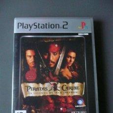 Videojuegos y Consolas: PIRATAS DEL CARIBE , LA LEYENDA DE JACK SPARROW - PS2 - PLAYSTATION 2 -. Lote 31746933