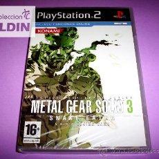 Videojuegos y Consolas: METAL GEAR SOLID 3 SNAKE EATER NUEVO PRECINTADO PS2. Lote 60011667