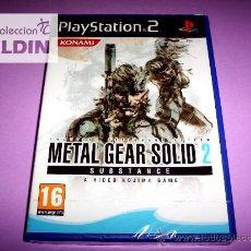 Videojuegos y Consolas: METAL GEAR SOLID 2 SUBSTANCE NUEVO PRECINTADO PAL ESPAÑA PLAYSTATION 2 PS2. Lote 29200388
