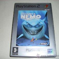 Videojuegos y Consolas: JUEGO PS2 BUSCANDO A NEMO. Lote 36886866