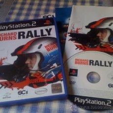 Videojuegos y Consolas: RICHARD BURNS RALLY JUEGO PARA PLAYSTATION PLAY STATION PS2 PAL VERSIÓN ESPAÑOLA COMPLETO. Lote 32281993