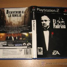 Videojuegos y Consolas: EL PADRINO PS2 PAL ESPAÑA COMPLETO / EA. Lote 32622653