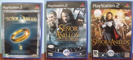 Lote Juegos Ps2 El Señor De Los Anillos 1 2 Y Sold Through Direct Sale 32689118